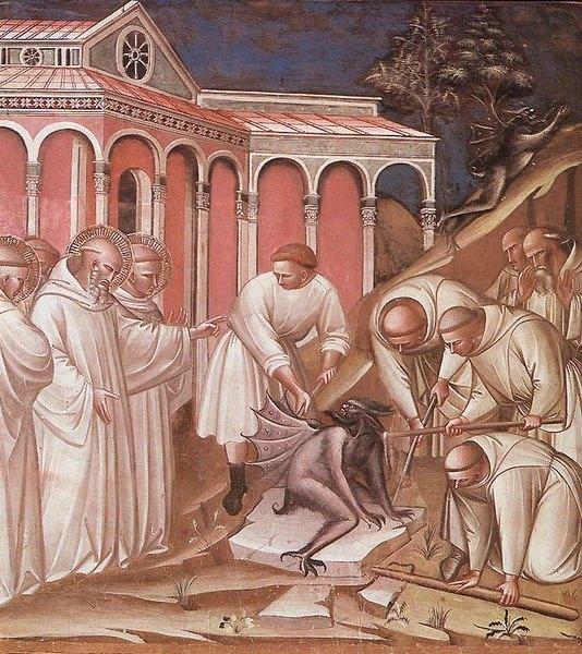 Spinello Aretino, Exorcism of St. Benedict
