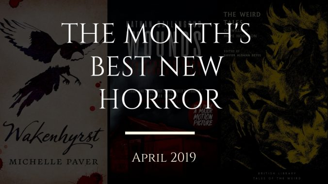 Best new horror books April 2019