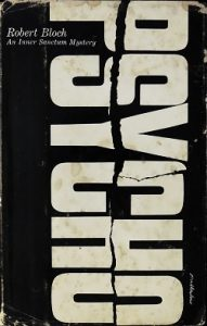 The first edition cover of Psycho