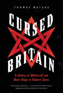Cursed Britain by Thomas Waters book cover