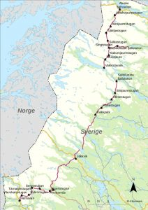 The Kungsleden in Northern Sweden
