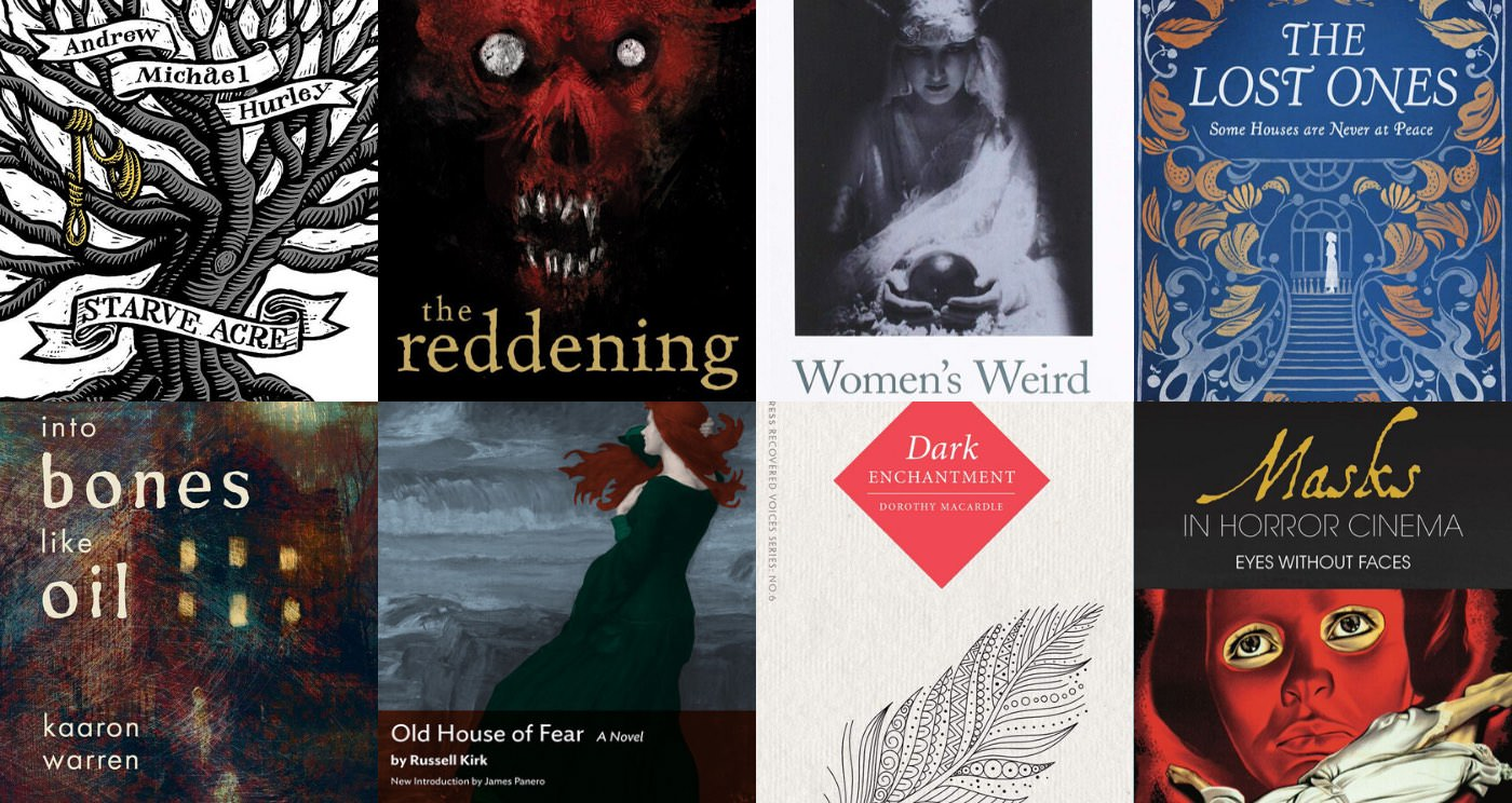Latest horror books: November 2019