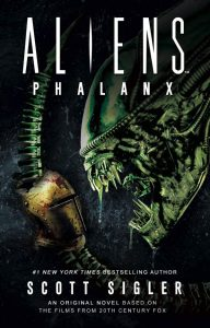 Aliens: Phalanx by Scott Sigler book cover