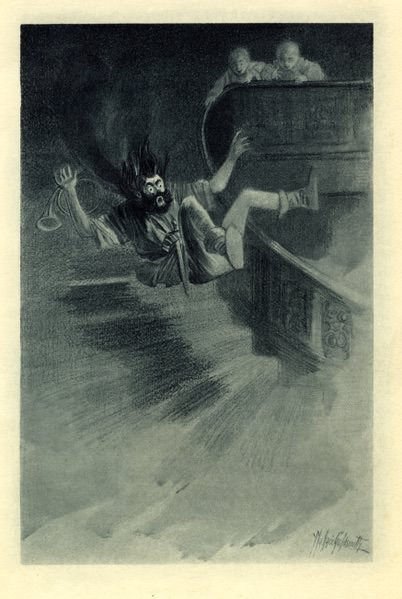 """The Canterville Ghost"" by Oscar Wilde illustration"