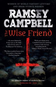 The Wise Friend by Ramsey Campbell book cover