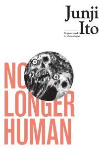 Junji Ito's No Longer Human book cover