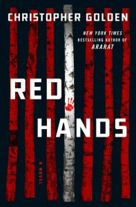 Red Hands by Christopher Golden book cover