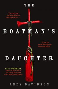 The Boatman's Daughter by Andy Davidson book cover